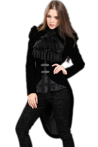 JW048 Gothic masquerade ball gowns cocktail jacket