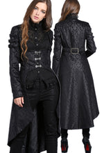 Load image into Gallery viewer, Gothic floor-length cocktail gown jacket coat JW091 - Gothlolibeauty