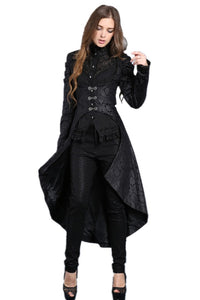 Gothic floor-length cocktail gown jacket coat JW091 - Gothlolibeauty