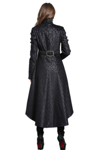 JW091 Gothic floor-length cocktail gown jacket coat - Gothlolibeauty