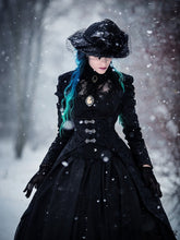 Load image into Gallery viewer, JW091 Gothic floor-length cocktail gown jacket coat - Gothlolibeauty