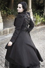 Load image into Gallery viewer, JW100 Gothic lady warn double-faced woolen cocktail robe jacket