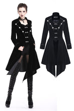 Load image into Gallery viewer, Gothic button two-pcs-look detachable jacket JW166 - Gothlolibeauty