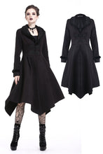 Load image into Gallery viewer, Gothic lady flower collar long coat JW167 - Gothlolibeauty