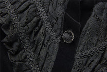 Load image into Gallery viewer, Gothic blouse-shape buttoned velvet jacket JW178 - Gothlolibeauty