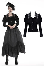 Load image into Gallery viewer, Gothic jacket with puff sleeves JW190 - Gothlolibeauty