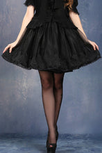 Load image into Gallery viewer, KW028 soft mesh a bit bubble petticoat skirt - Gothlolibeauty
