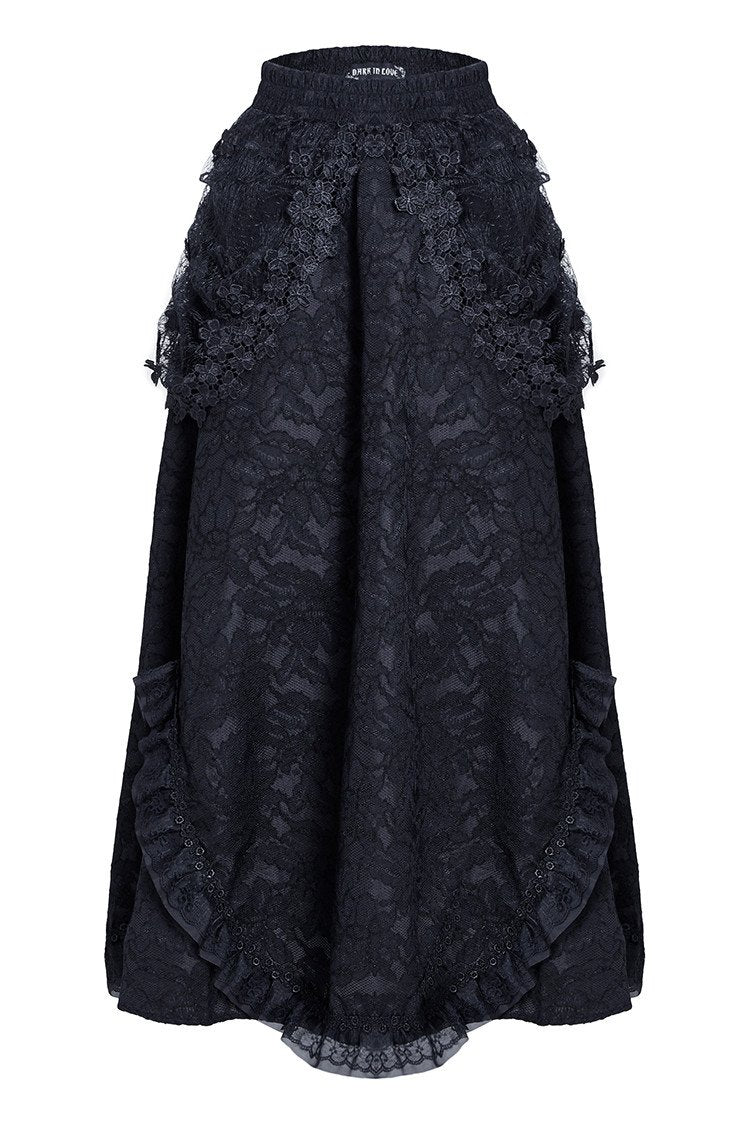 The gothic long skirt (no petticoat included) KW042 - Gothlolibeauty