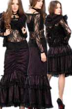 Load image into Gallery viewer, Multi-wear Packet hip long skirt KW061VT - Gothlolibeauty