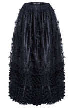 Load image into Gallery viewer, Gothic long skirt with budding flowers lace KW093 - Gothlolibeauty