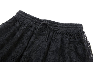 Casual hollow-out lace skirt KW097 - Gothlolibeauty