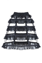 Load image into Gallery viewer, Gothic lolita layers petticoat with solf fishbone KW114 - Gothlolibeauty