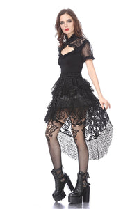 KW121 Punk messy cocktail short skirt