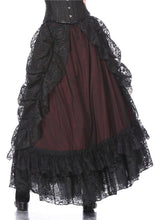 Load image into Gallery viewer, Gothic eleglant court skirt (price no incl. petticoat) KW123RD - Gothlolibeauty