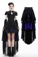 Load image into Gallery viewer, Gothic elegant lace cocktail skirt KW138 - Gothlolibeauty