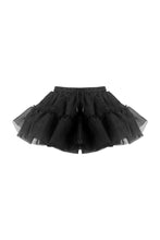 Load image into Gallery viewer, Black lolita underskirt mini petticoat KW145 - Gothlolibeauty