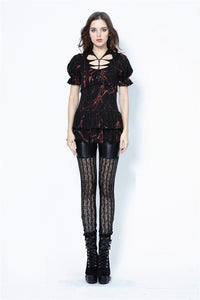 Punk sexy vertical grain lace legging pants PW080 - Gothlolibeauty