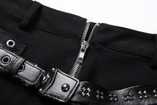 Load image into Gallery viewer, PW085 Punk rivet shorts with surround thigh design