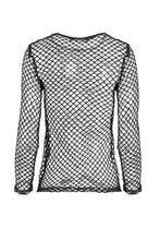 Load image into Gallery viewer, TW106 Punk sexy big grid T-shirt