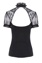 Load image into Gallery viewer, Gothic lace knitted T-shirt TW149 - Gothlolibeauty