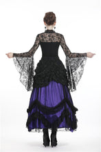 Load image into Gallery viewer, Gothic gorgeous lace horn sleeves T-shirt TW188 - Gothlolibeauty