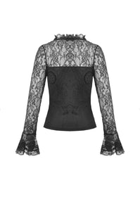 Women's elegant lace sleeves T-shirt TW297