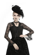 Load image into Gallery viewer, Women's elegant lace sleeves T-shirt TW297