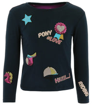 Load image into Gallery viewer, Equikids Pony Love Long Sleeve T-Shirt