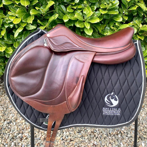 "Devoucoux Chiberta Lab 18"" Monoflap Saddle"