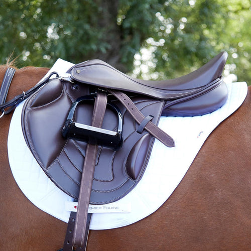 Premier Equine Bordeaux Monoflap Saddle