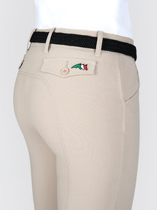 Equiline Ladies Knee Grip Breeches - Bice