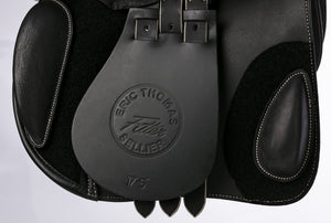 Eric Thomas 'Fitter' Jump Saddle Grained Leather
