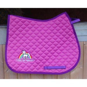 Cameo Rainbow Riders Saddlepad
