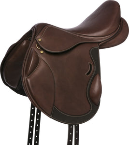 Eric Thomas Fitter Cross Country Saddle Lined Leather