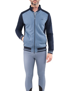 Equiline Mens Full Zip Sweatshirt - Ephram