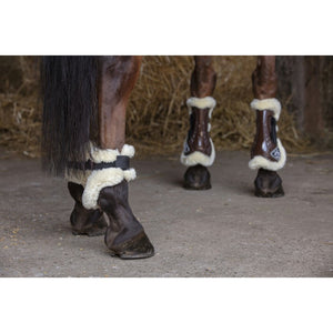 Norton XTR Fetlock Boots with Synthetic Sheepskin