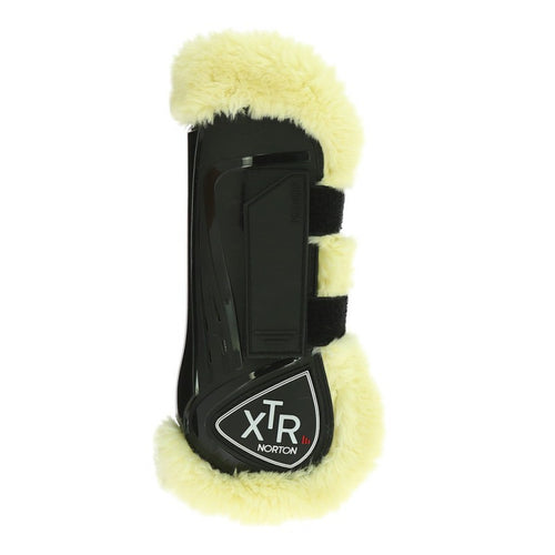 Norton XTR Tendon Boots in Synthetic Sheepskin