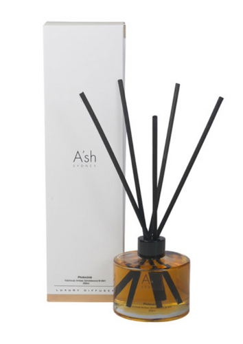 Ash Glass Candles Reed Diffusers Paradise
