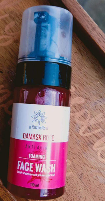 Foaming Facewash - Damask Rose - Anti Aging