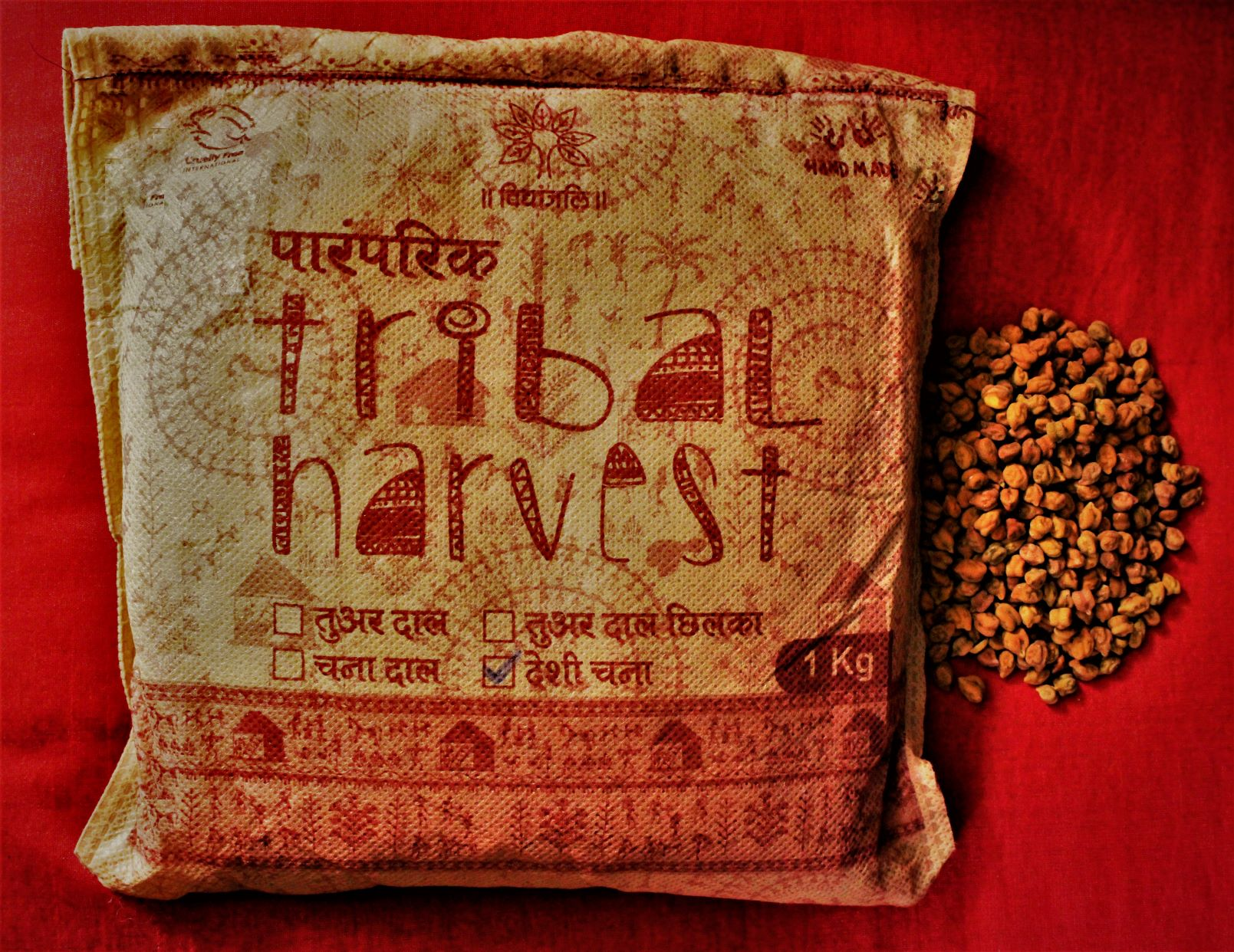 Paramparik Tribal Harvest Desi Chana / Bengal Gram Whole