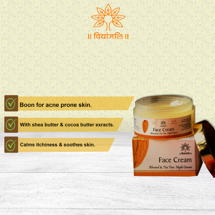 Almond Tea Tree Night Cream