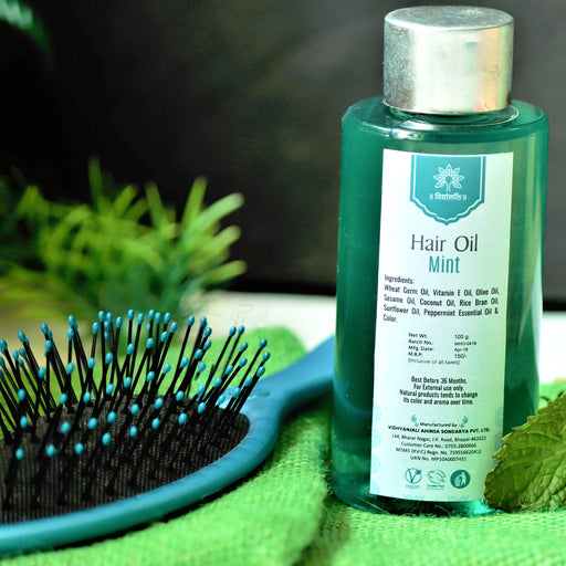 Mint Hair Oil