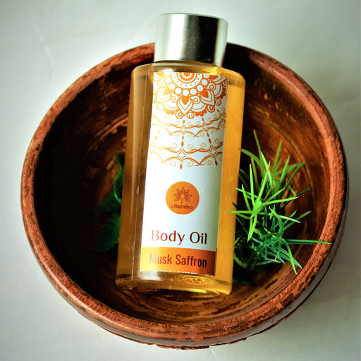 Musk Saffron Body Oil