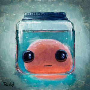 Bucket's Self Portrait Original SOLD!