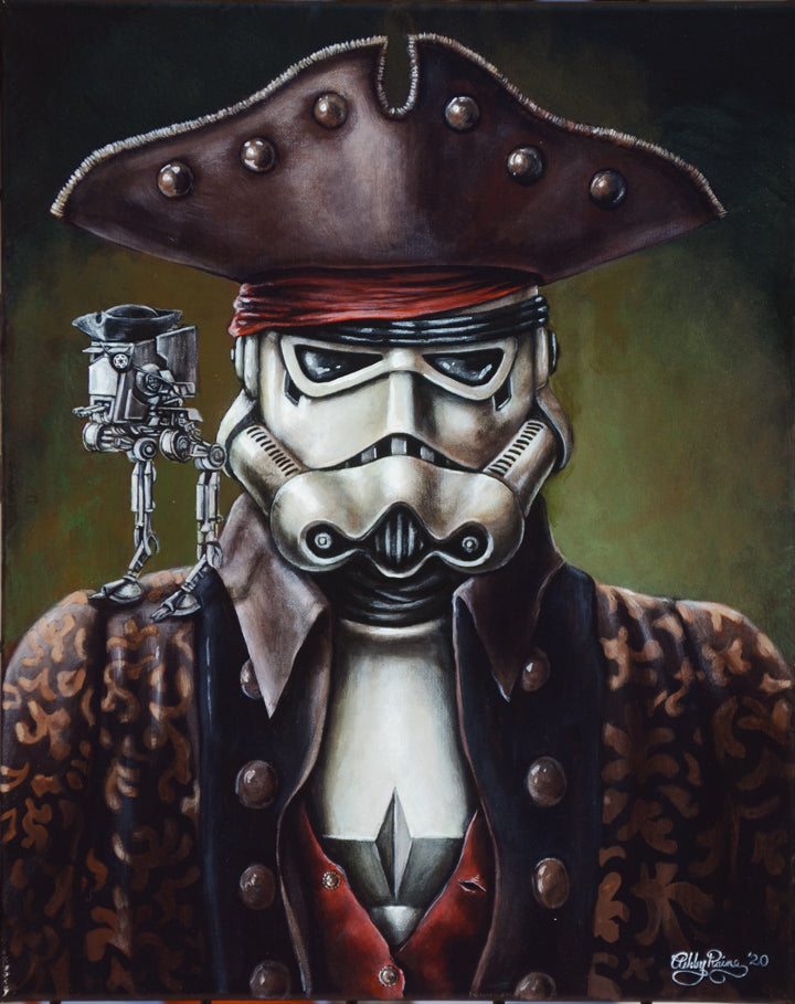Captain Jack Trooper Original Painting by Ashley Raine