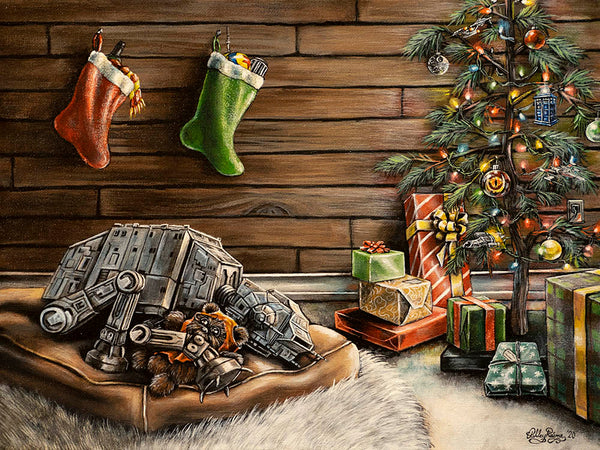 Have Yourself a Merry Little Sithmas Original by Ashley Raine