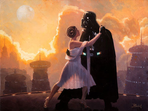 Father Daughter First Dance by Artist Bucket
