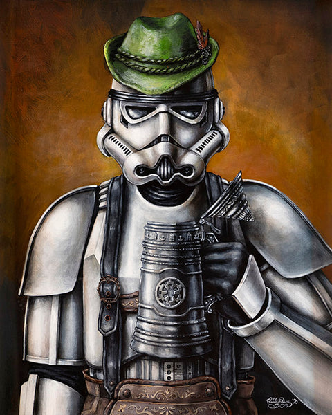 Octoberfest Trooper by Ashley Raine