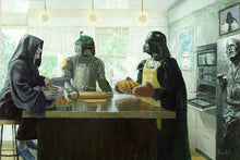 """Imperial Baking Party"" Gallery Wrapped Canvas by Artist Bucket - 5 Sizes Available"