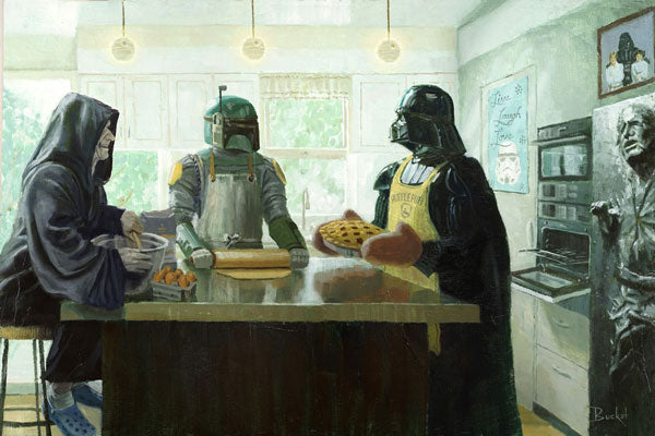 Imperial Baking Party by artist Bucket